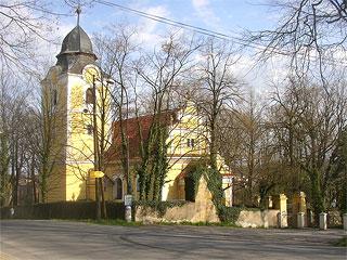 Klecany - kostel Nanebevzetí Panny Marie
